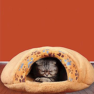 寵物貴族 頂級加厚超柔軟寵物睡窩/貓窩/狗窩/寵物窩/寵物床/寵物墊 舒眠柔膚款