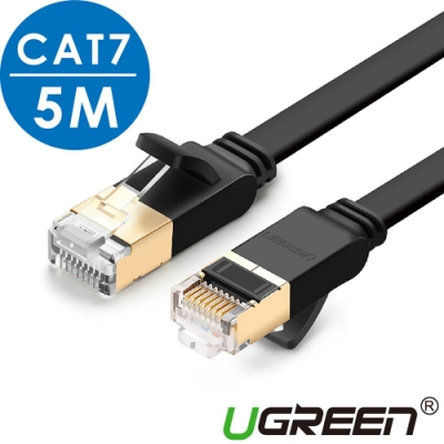 綠聯 CAT7網路線 FLAT版 5M