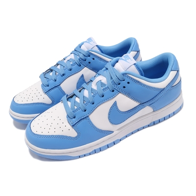 Nike 休閒鞋 Dunk Low Retro 運動 男鞋 經典款 簡約 舒適 球鞋穿搭 北卡藍 白 藍 DD1391102