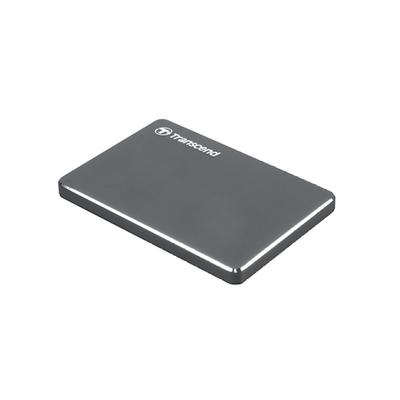 創見 StoreJet 25C3N 2.5吋 1TB USB3.1 Gen1 輕薄行動硬碟-TS1TSJ25C3N
