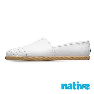 native VERONA 男/女鞋-貝殼白x焦糖底
