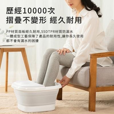 艾斯凱摺疊足浴按摩泡腳機(折疊、按摩、泡腳、收納)