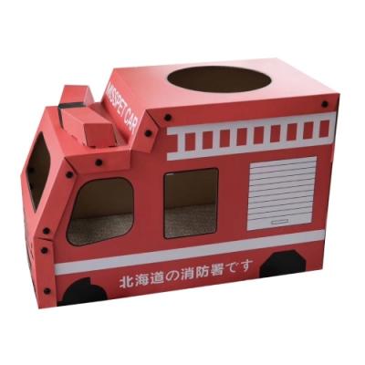 寵喵樂《組合式造型車車貓抓屋》英雄消防車 SY-684X1入組
