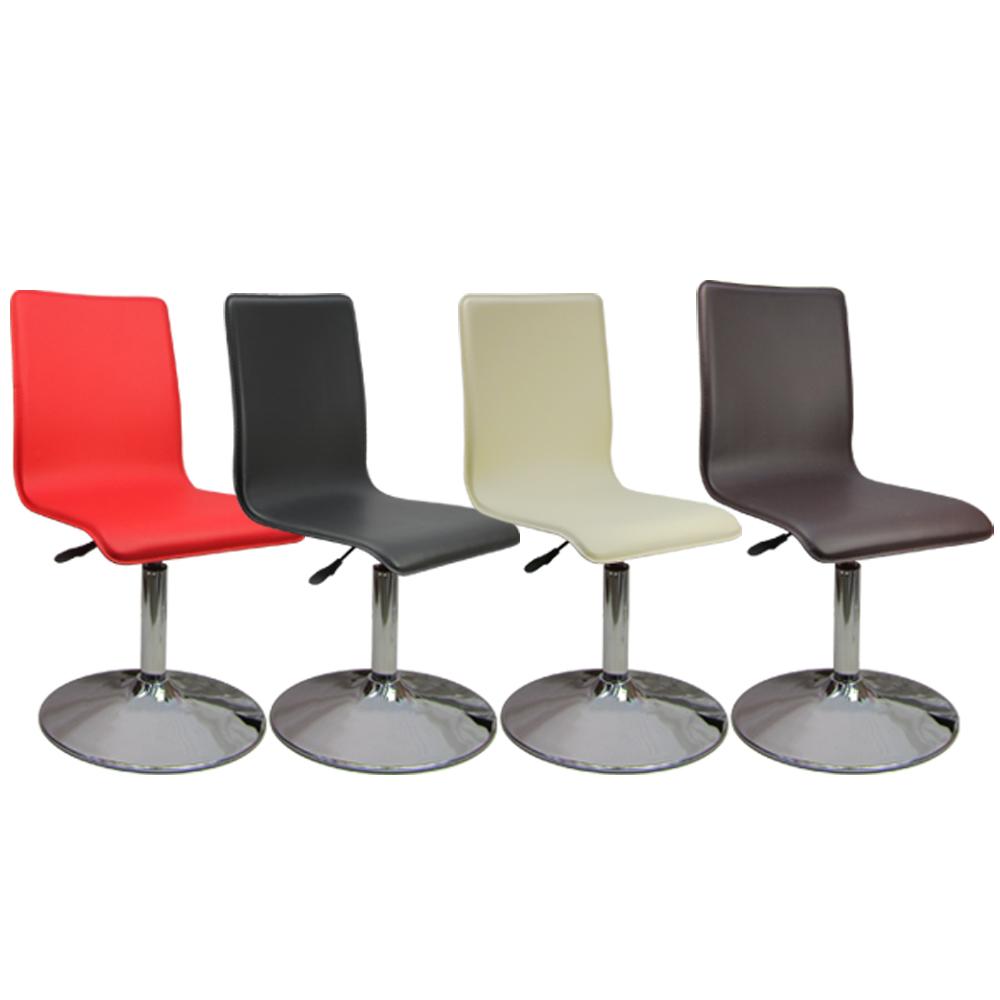 Logis 歐風馬鞍皮革事務椅 電腦椅 吧台椅 辦公椅(四色)