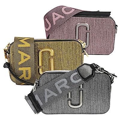 MARC JACOBS Snapshot金屬亮粉相機包/斜背包(3色)