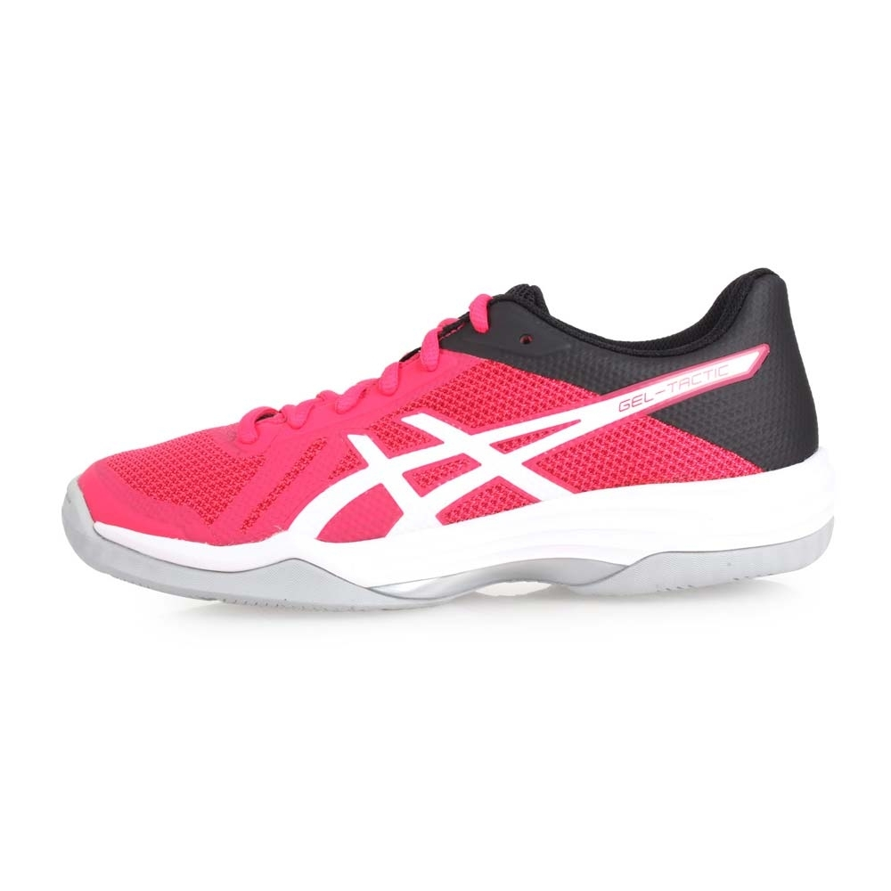 ASICS GEL-TACTIC 女排羽球鞋- 排球 桃紅白黑