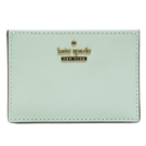 Kate spade card holder 防刮牛皮證件/名片夾-薄荷綠