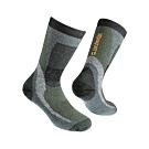 Zamberlan 高筒美麗諾羊毛登山襪 橄綠 A06111