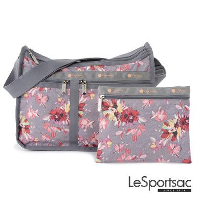 LeSportsac - Standard雙口袋A4大書包-附化妝包 (吉普賽玫瑰)