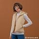 GIORDANO  女裝素色鋪棉連帽背心 - 15 杏仁白 product thumbnail 1