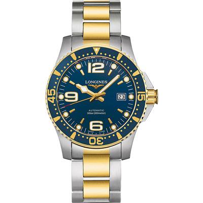 LONGINES 浪琴 300米半金藍面潛水款-41mm
