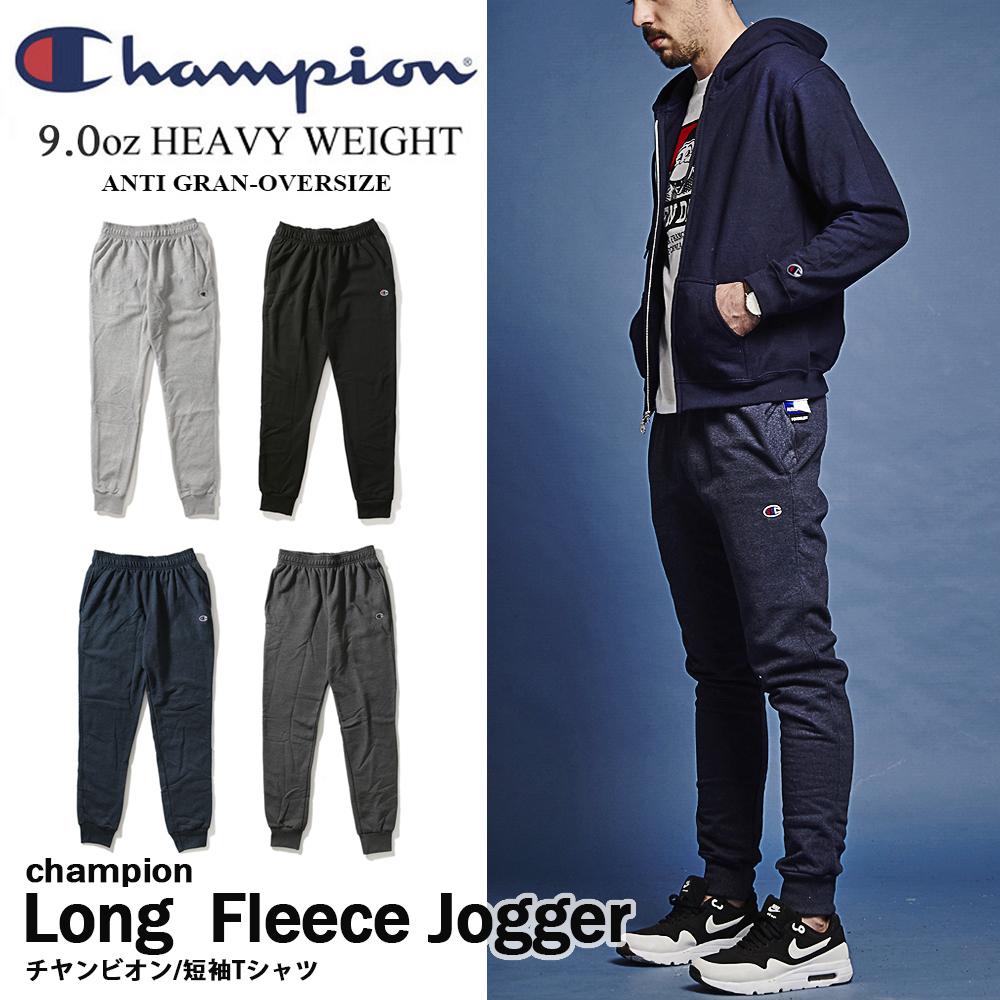 冠軍CHAMPION FLEECE JOGGER重磅刷毛縮口棉褲 P1022