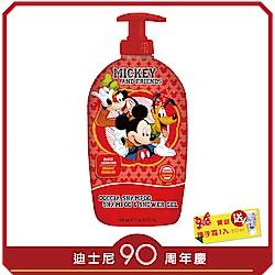 自然之綠-迪士尼米奇與好朋友兒童2合1洗髮沐浴露-500m