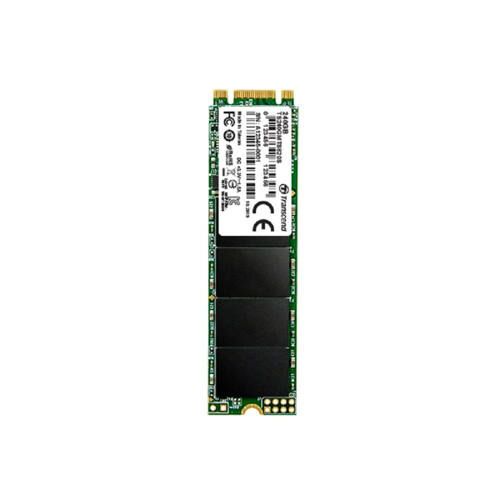 Transcend創見 256GB M.2 2280 SATAIII SSD固態硬碟 (TS256GMTS830S)