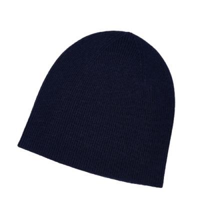米蘭精品 羊毛帽針織帽-條紋純色圓頂秋冬男帽子情人節生日禮物8色73wj24