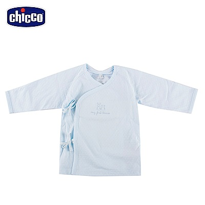 chicco-透氣素色肚衣-藍(3-6個月)
