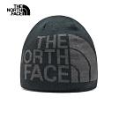 The North Face北面男女款灰色毛帽 AKNDG92