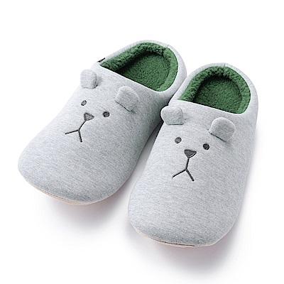 CRAFTHOLIC宇宙人 潮流簡約帽T室內拖鞋( 男生尺碼 )