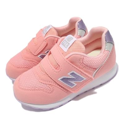 New Balance 休閒鞋 996 W Wide 寬楦 童鞋 紐巴倫 魔鬼氈 N字鞋 麂皮 小童 粉 紫 IZ996UPNW