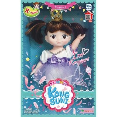 任選KONGSUNI 小荳娃娃 芭蕾舞者YT31041 原廠公司貨 YONUG TOYS