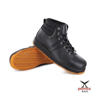 PAMAX 帕瑪斯-超彈力氣墊高抓地力安全鞋-銀纖維抗菌除臭、耐壓縮機能彈力墊、止滑專利底-PT5901FEH-男女