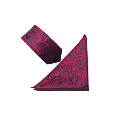 Laifuu拉福,英翔精品6cm中窄版領帶手打領帶口袋組(手打領帶+口袋巾)