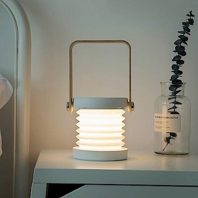 手提燈籠小夜燈 造型觸控檯燈 創意禮物