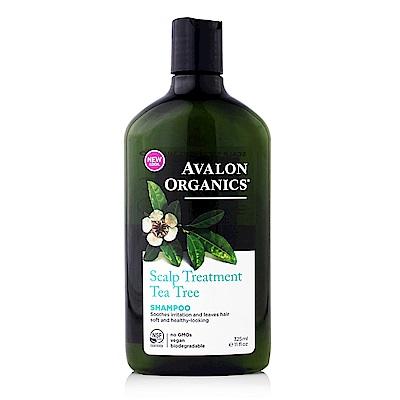 AVALON ORGANICS 茶樹頭皮調理精油洗髮精(325ml/11oz)