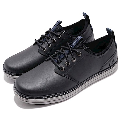 Skechers 牛津休閒鞋 Heston-Rogic 男鞋