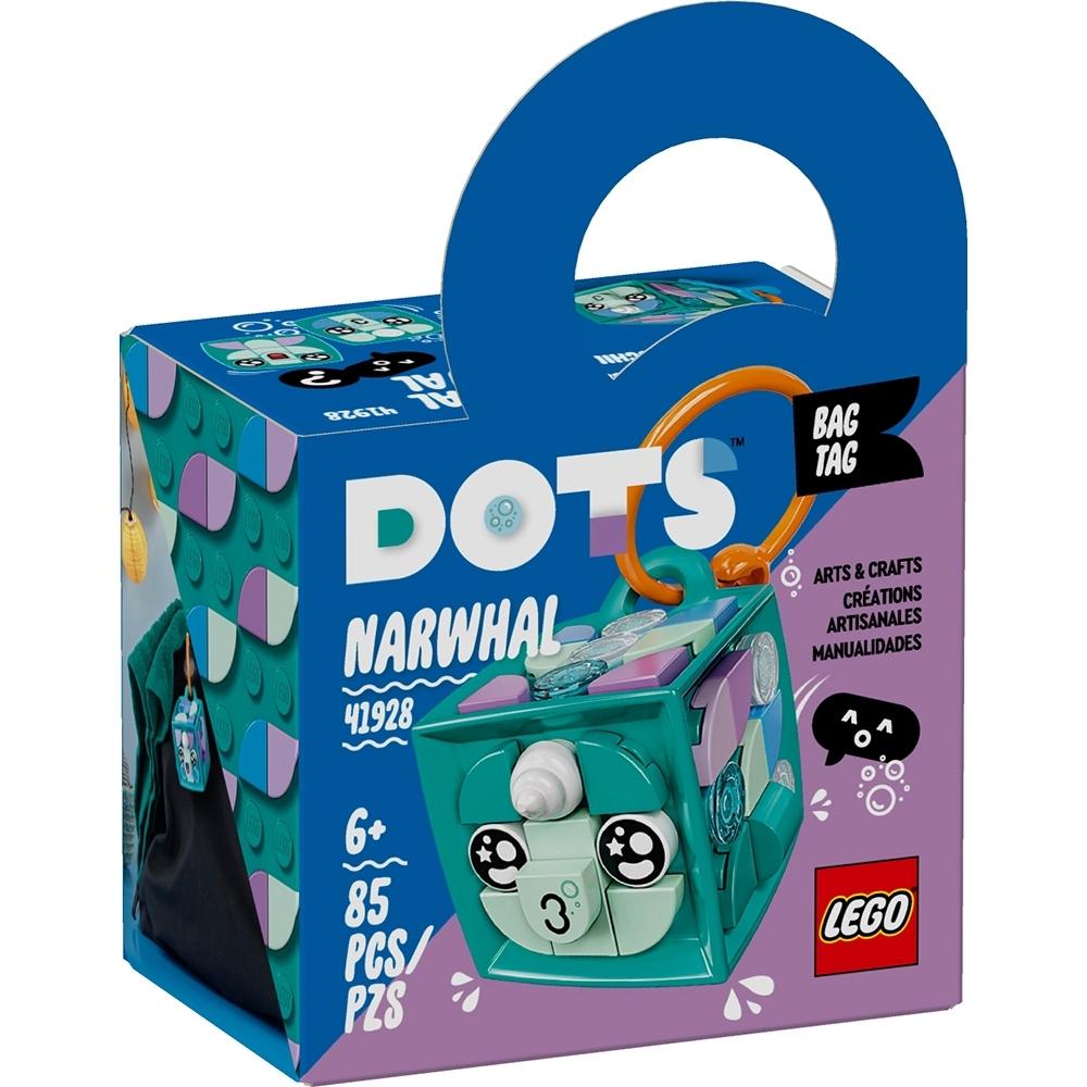 樂高LEGO DOTS系列 - LT41928 行李吊牌 獨角鯨