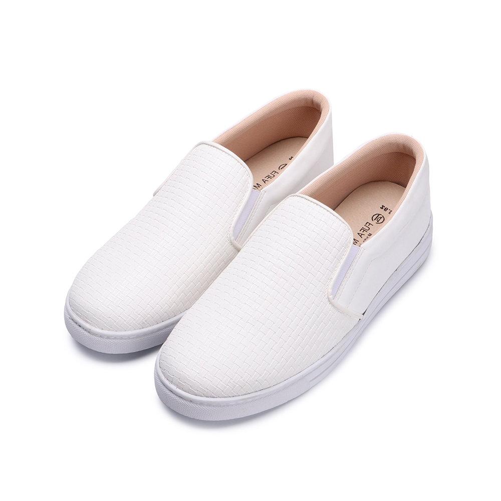 BuyGlasses 今天穿編織D懶人鞋-白