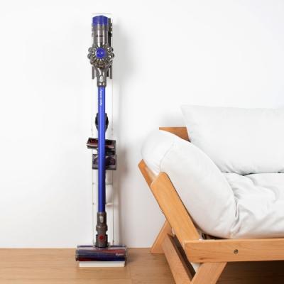 樂嫚妮-多功能吸塵器收納架-Dyson-直立式-掛架-手持式-白