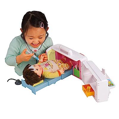 POPO-CHAN配件-會說話的救護車變身醫院組合