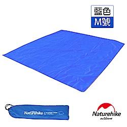 Naturehike 戶外6孔帳篷地席 天幕帳布 M號 3-4人 藍色