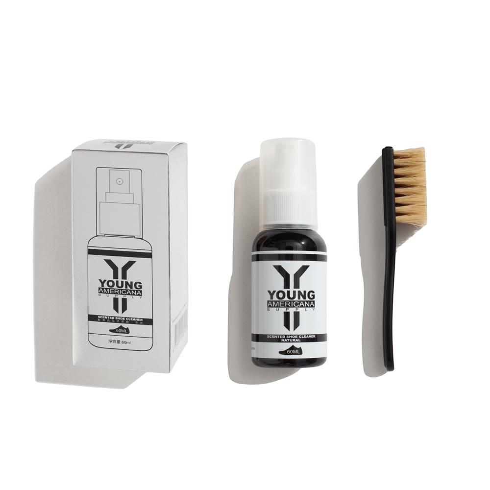 Y.A.S美鞋神器 鞋類香氛洗潔組(60ml)-原味/綠茶