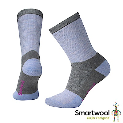 零碼五折↘SmartWool 女 中級減震型徒步中長襪 中性灰 L