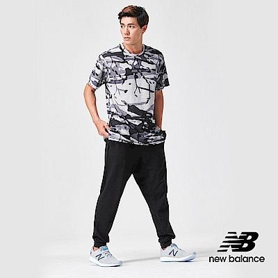 New Balance短袖T恤AMT91054OTS男性黑色