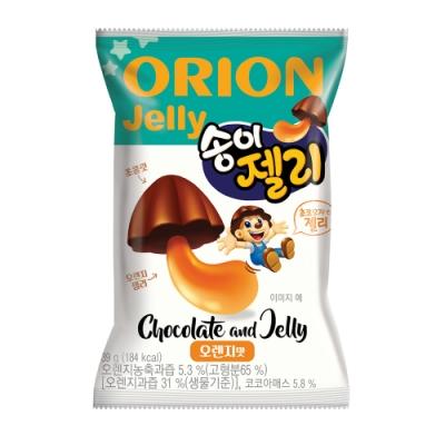 好麗友 香菇巧克力造型軟糖(39g)