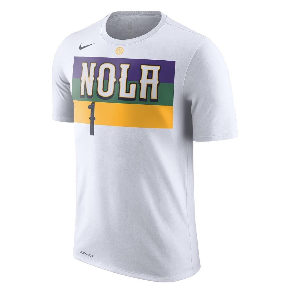 NIKE NBA 城市版 短袖T恤 快艇隊 Zion Williamson
