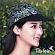 FLYSPIN 防曬變形蟲花布休閒運動空心帽