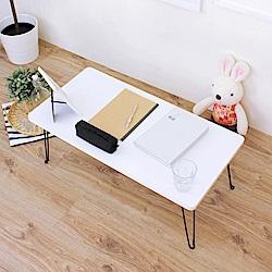 頂堅 折疊桌/野餐桌/摺疊桌/和室桌/矮桌-二色-寬80x深40x高31/公分