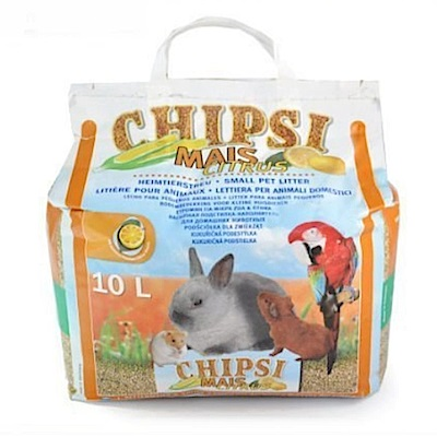 德國CHIPSI 檸檬香玉米粒木屑砂 10L 兩包組