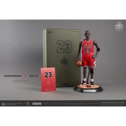 ENTERBAYxEric 1/6 NBA公仔公牛隊 Michael Jordan