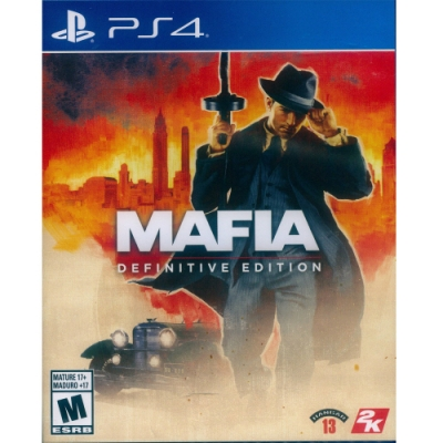 四海兄弟:決定版 Mafia: Definitive Edition - PS4 中英日文美版