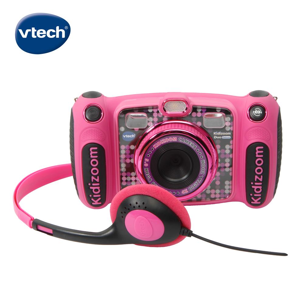 【Vtech】多功能兒童MP3遊戲相機-粉