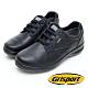 Grisport 義大利進口-高質感綁帶厚底真皮休閒鞋-黑色 product thumbnail 1