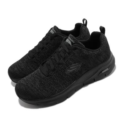 Skechers 休閒鞋 Arch Fit Paradyme 男鞋 專利鞋墊 足科醫生推薦 回彈 避震 穩定 黑 灰 232041BBK