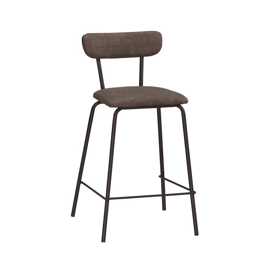 Bernice-布克布面吧台椅/高腳椅/單椅-51.5x50.5x99cm