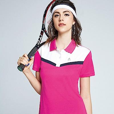 Spar彈性布女版短POLO衫S196216