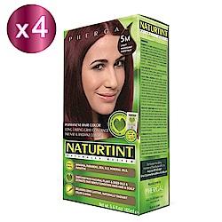 NATURTINT 赫本染髮劑 5M 棕紅色x4 (155ml/盒)